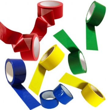 Coloured Low Noise Polypropylene Packaging Tape 48mm x 66m